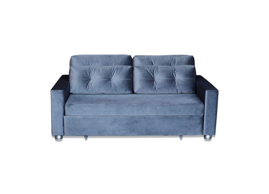 Sofá cama com estrado