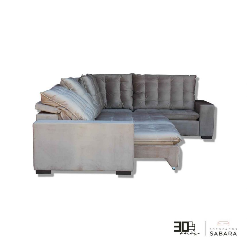 Sofá Retrátil reclinável de Canto – modelo 17